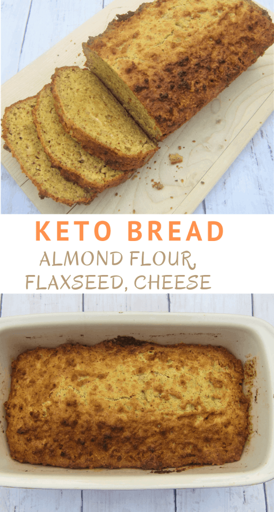 Almond flour, flaxseed, parmesan cheese, gruyere cheese bread!! This bread is perfect for low carb diet.