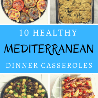 10 Healthy Mediterranean Dinner Casseroles