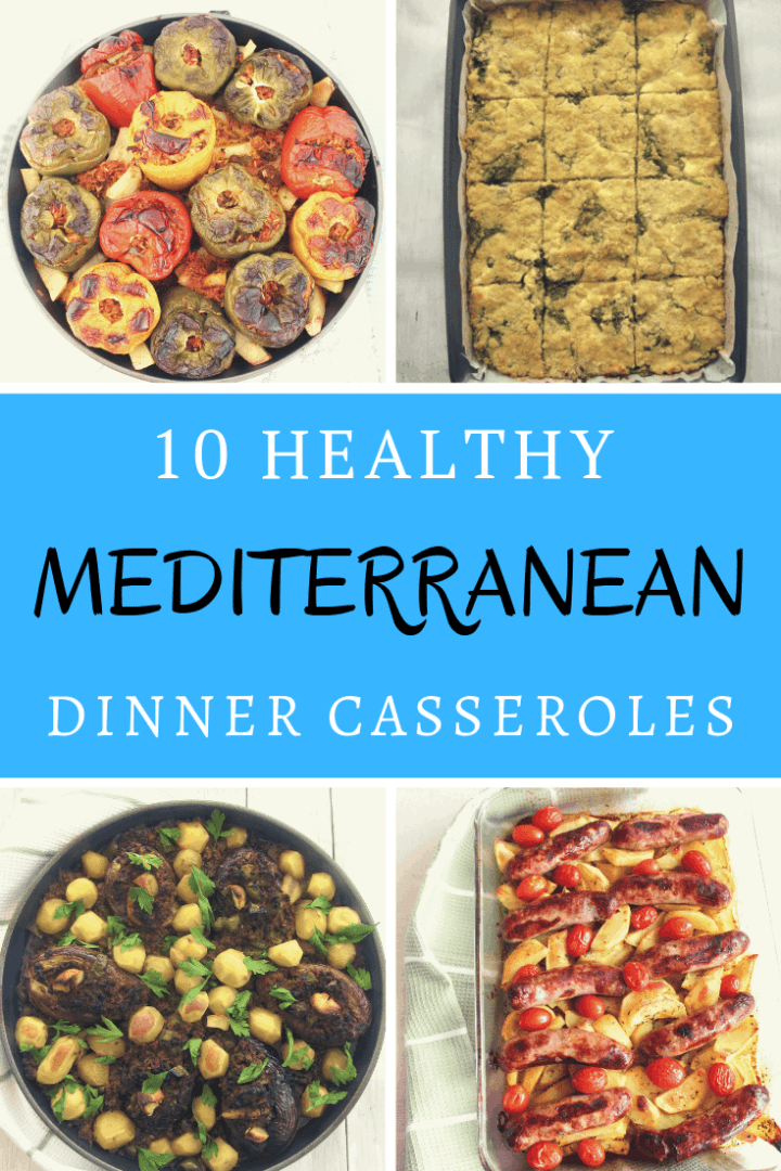 A roundup of 10 delicious and healthy Mediterranean Dinner Casseroles. Several of them are Albanian inspired recipes