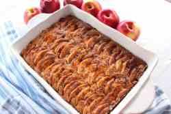 Apples, Walnuts, Honey Cake - perfect Fall Dessert