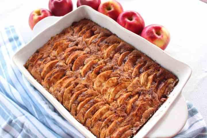 Apple, Walnuts, Honey Cake