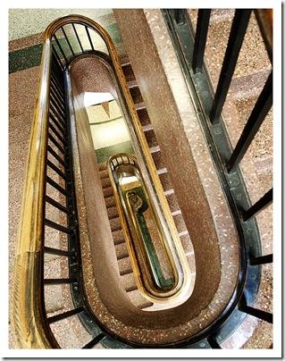 Merrifield Hall staircase