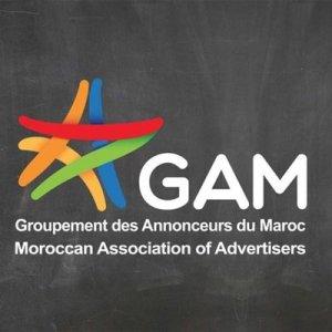Logo du groupement des annonceurs du Maroc