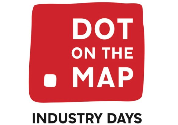 Dot on the map