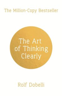 book cover - thinking clearly