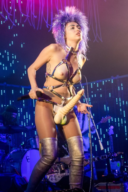 Miley Cyrus and Her Dead Petz tour opener at The Riviera Theatre in Chicago.
