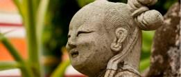 Asian Girl Statue