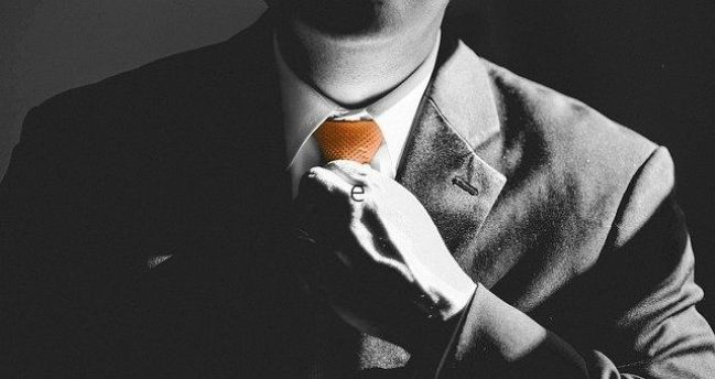 business man with tie