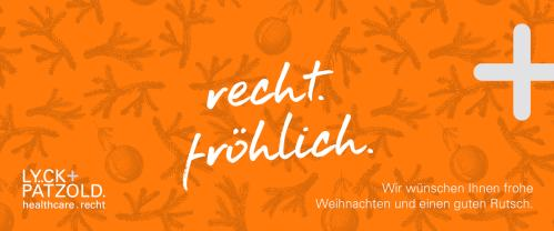 Lyck+Pätzold healthcare.recht Weihnachtspost