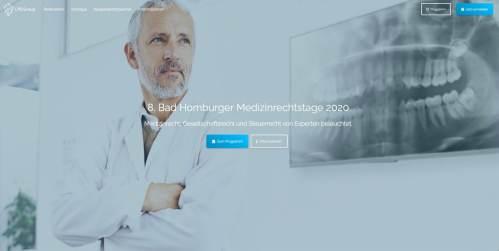 Die 8. Bad Homburger Medizinrechtstage vom 10.-12.09.2020