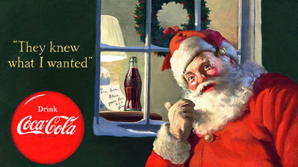 Santa Clause as a Spokesperson