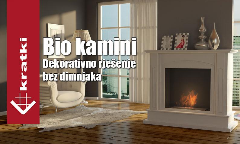 Bio kamini – Dekorativno rješenje bez dimnjaka