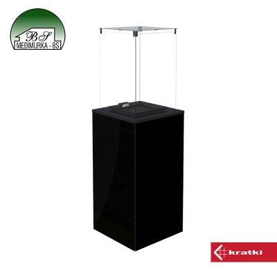 Plinski grijač PATIO MINI/M crni