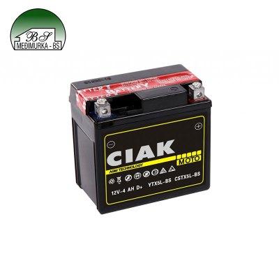 Starter Moto 12V- 4Ah +D YTX5L-BS