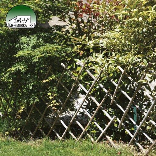 Rešetkasta ograda za cvijeće i biljke