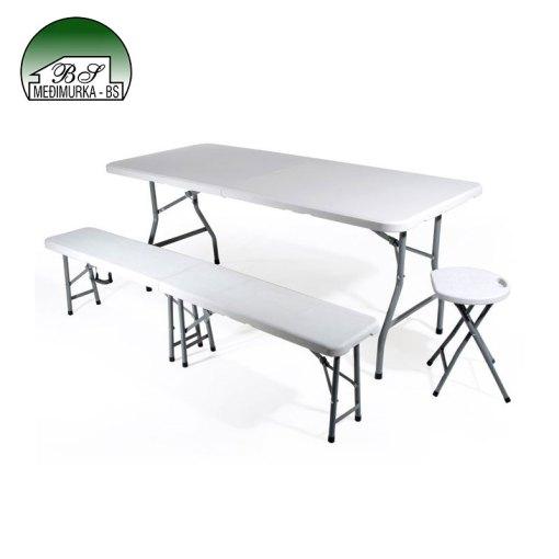 Sklopiv pravokutni stol
