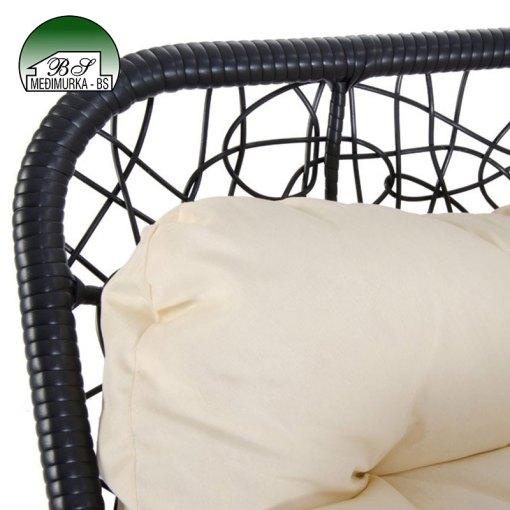 Viseća fotelja - otvorena