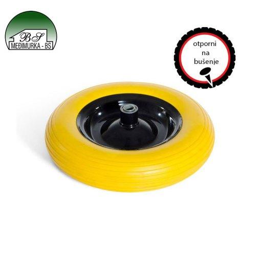 Pneumatski kotač za tačke - žuti 80