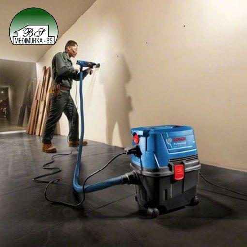 GAS 15 PS BOSCH usisivač za suho i mokro