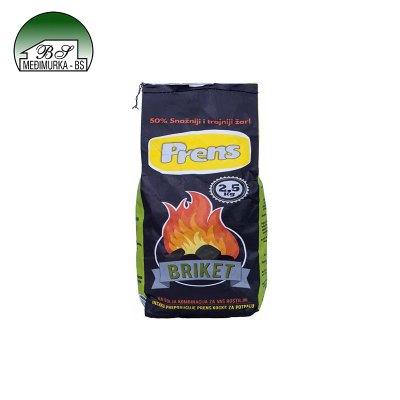 Ugljen briket Prens 2,5 kg