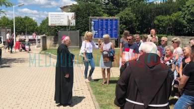 Photo of (VIDEO) Nadbiskup Henryk Hoser u Međugorju se susreo sa hodočasnicima iz Poljske