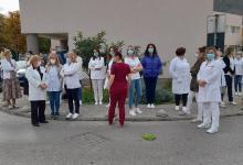 Photo of Prosvjed mostarskih zdravstvenih radnika