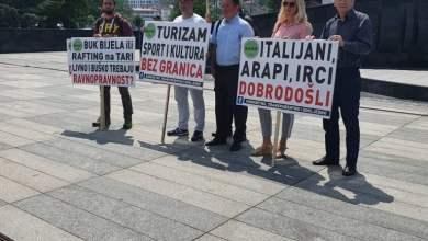 Photo of U Sarajevu održan prosvjed turističkih djelatnika