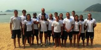 Maratona aquática: chegou a vez dos homens