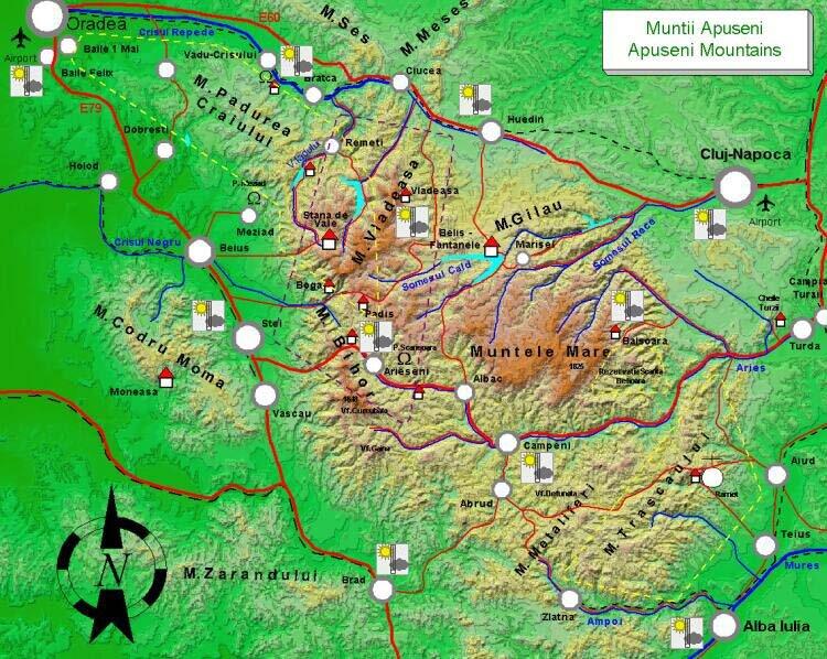 aouseni mountains