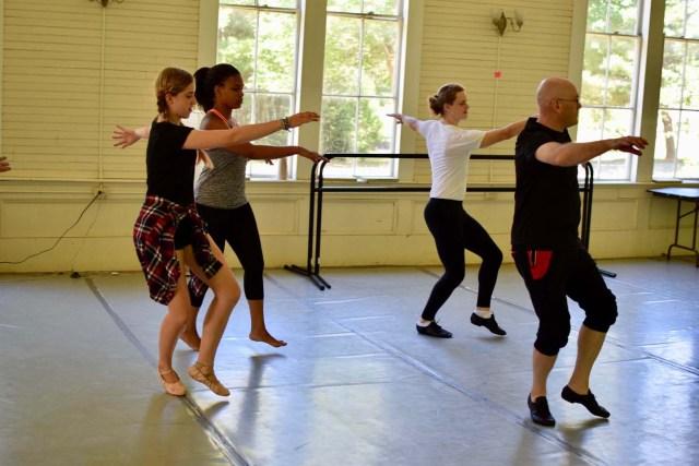 dance class at camp medolark