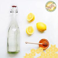 Мед, лимон и теплая вода