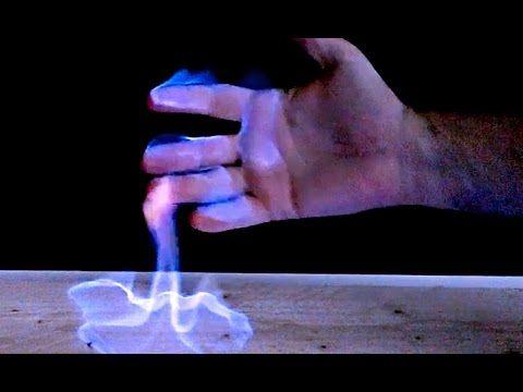 hand sanitiser fire