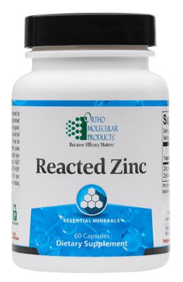 Reacted Zinc