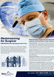 Medstreaming Surgical Brochure