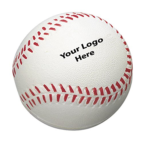 100-Quantity-115-Each-Baseball-Stress-Reliever-PROMOTIONAL-PRODUCT-BULK-BRANDED-with-YOUR-LOGO-CUSTOMIZED-0