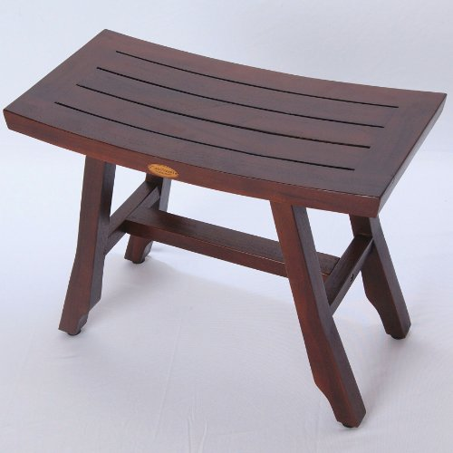 24-Satori-Teak-Shower-Bench-Asia-Style-extended-length-Shower-Shaving-Display-Foot-Leveling-Pads-0-0