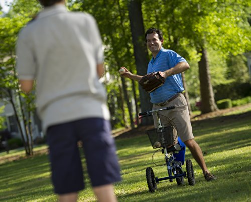 All-Terrain-KneeRover-Steerable-Knee-Scooter-Knee-Walker-Heavy-Duty-Crutches-Alternative-in-Blue-0-1