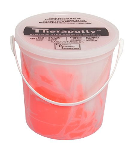 Cando-10-0924-Red-Thera-Putty-Light-5-lbs-0