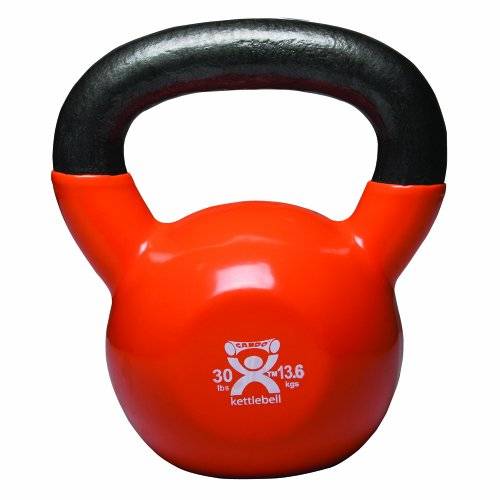 Cando-10-3197-Gold-Kettle-Bell-30-lbs-Weight-0