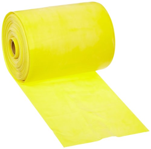 Cando-10-5221-Yellow-Low-Powder-Latex-Exercise-Band-X-Light-Resistance-50-yd-Length-0-0