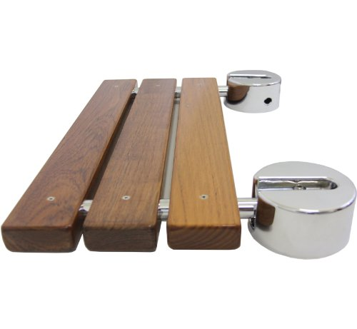 Clevr-20-Teak-Modern-Folding-Shower-Seat-Bench-Dark-Wood-Medical-Wall-Mount-0-0