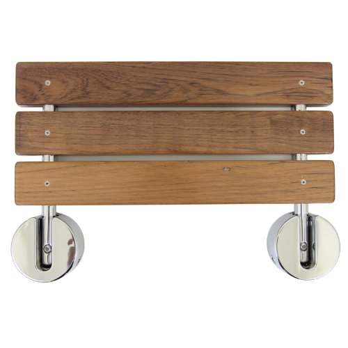 Clevr-20-Teak-Modern-Folding-Shower-Seat-Bench-Dark-Wood-Medical-Wall-Mount-0-1