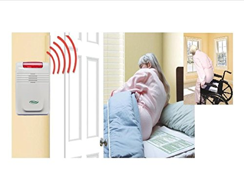 Cordless-Wireless-Alarm-With-Both-bed-Chair-Pads-No-alarm-in-patients-room-0