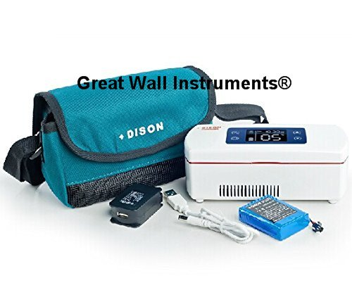 DISON-new-Portable-Insulin-Cooler-Refrigerated-Box-Drug-Reefer-WITH-Battery-WORKING-24-HOURS-0