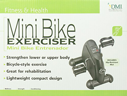 DMI-Mini-Exercise-Bike-Fitness-Mini-Cycle-with-Mat-Black-0-1