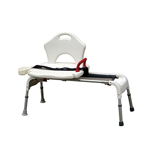 Drive-Medical-Folding-Universal-Sliding-Transfer-Bench-White-0
