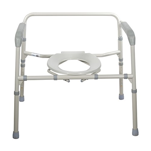 Drive-Medical-Heavy-Duty-Bariatric-Folding-Commode-Gray-0-1