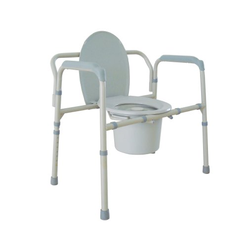 Drive-Medical-Heavy-Duty-Bariatric-Folding-Commode-Gray-0