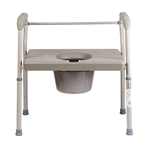 Duro-Med-DMI-Heavy-Duty-Steel-Commode-with-Platform-Seat-0-1