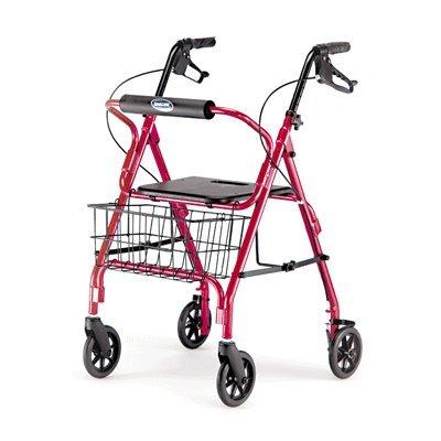 Four-Wheel-Rolling-Walker-Rollator-0